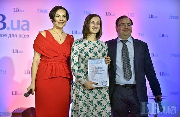 Шеф-редактор Соня Кошкина, журналист Виктория Матола и главный редактор Олег Базар