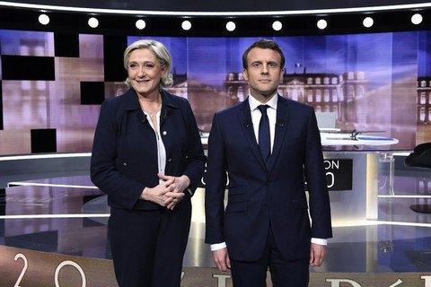 Макрон виграв президентські дебати у Ле Пен