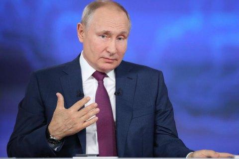 Путін назвав законопроєкт Зеленського про корінні народи зброєю масового ураження проти росіян