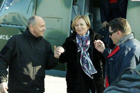 Президент Парламентской ассамблеи НАТО съездила в Широкино
