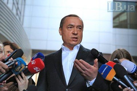 В Киеве начали судить экс-нардепа Мартыненко