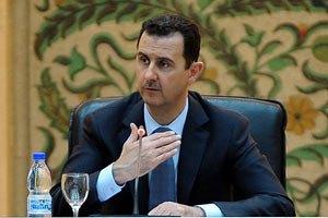 Асад: події в Сирії - результат ворожої змови
