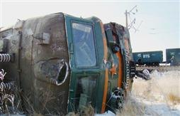В Ужгороді зіткнулися потяги