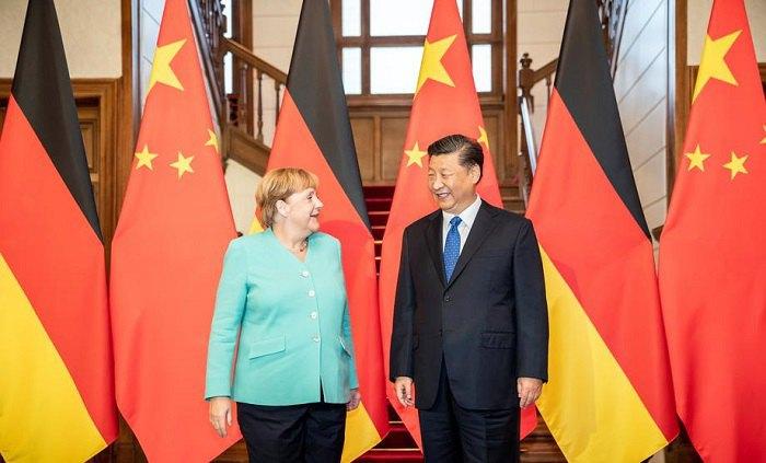 Встреча канцлера Германии Ангелы Меркель и главы Китая Си Цзиньпина в 2019 году. Пекин