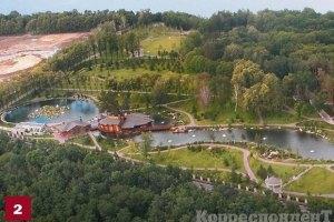 В Межигорье установили POS-терминал банка сына Януковича