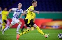 "Футболист ""Боруссии"" установил рекорд скорострельности, забив гол через три секунды после выхода на поле"