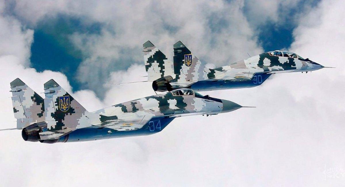 Винищувачі ПС України Міг-29