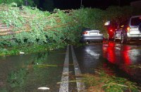 Последствия урагана в Одессе ликвидируют Минобороны и МВД