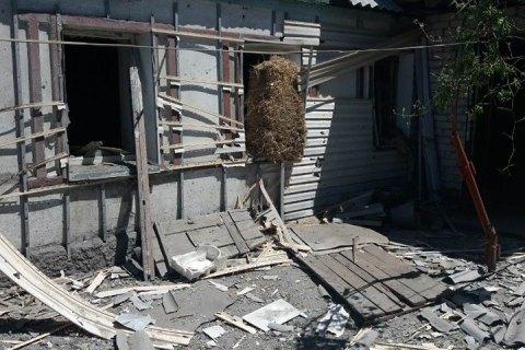 Бойовики знову обстріляли будинки мирних жителів Авдіївки