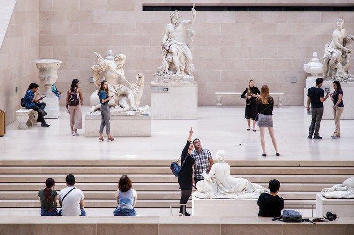 Экспозиция в Лувре