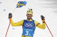 Несподівана перемога біатлонної команди Швеції в чоловічій олімпійській естафеті