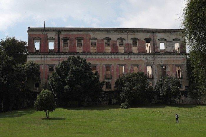 Музей после пожара
