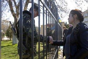 МЗС закликає українські війська у Криму не піддаватися на провокації