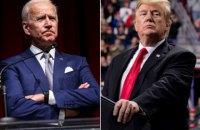 Главные конкуренты на президентских выборах в США Трамп и Байден обсудили по телефону пандемию коронавируса
