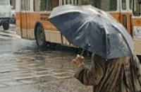 В Украину идут дожди и град