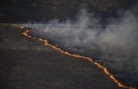 ДСНС зупинила поширення пожежі в Чорнобильській зоні (оновлено)
