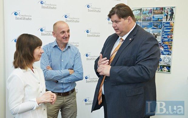 Игорь Балута(справа), экс-председатель Харьковской областной государственной администрации