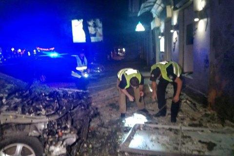 Внаслідок вибуху автомобіля в центрі Одеси постраждав директор охоронної фірми