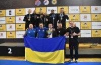 Збірна України з самбо здобула на чемпіонаті Європи 14 медалей