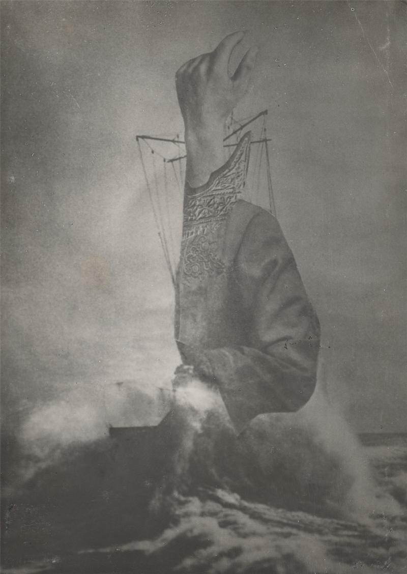 Александер Кшивоблоцький, фотоколаж SOS, 1928