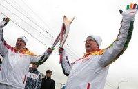 Олимпийский огонь повторно погас в России