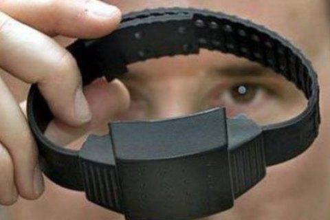 В Нацполиции заявили, что только 14% электронных браслетов исправные
