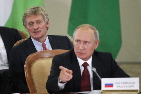 Кремль отказался поздравить Зеленского
