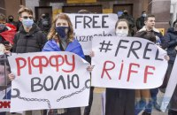 """Суд у """"справі Шеремета"""" перенесли на 23 березня, активісти рушили до СІЗО, де утримують Антоненка"""