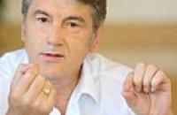 Ющенко призывает днепропетровских журналистов прекратить голодание