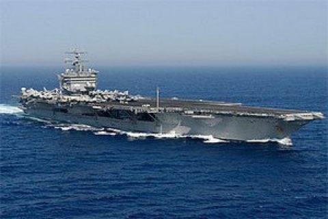 Іранський безпілотник здійснив небезпечне наближення до винищувача США