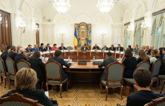 Перше засідання комісії з питань правової реформи