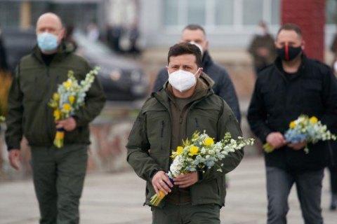 Зеленский и Шмыгаль посетили Чернобыльскую зону