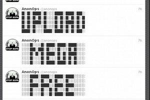 Хакеры из Anonymous отомстили за закрытие Megaupload