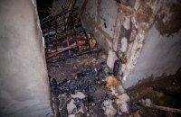 В общежитии Днепропетровского транспортного колледжа произошел пожар