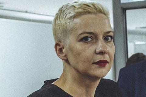 Суд в Минске оставил Марию Колесникову под стражей