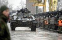 В Литву прибыли немецкие танки