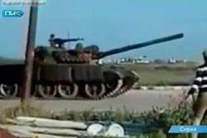Туреччина проводить танкові навчання біля сирійського кордону