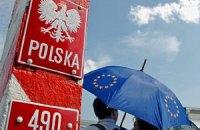 На кордоні з Польщею - багатокілометрові черги