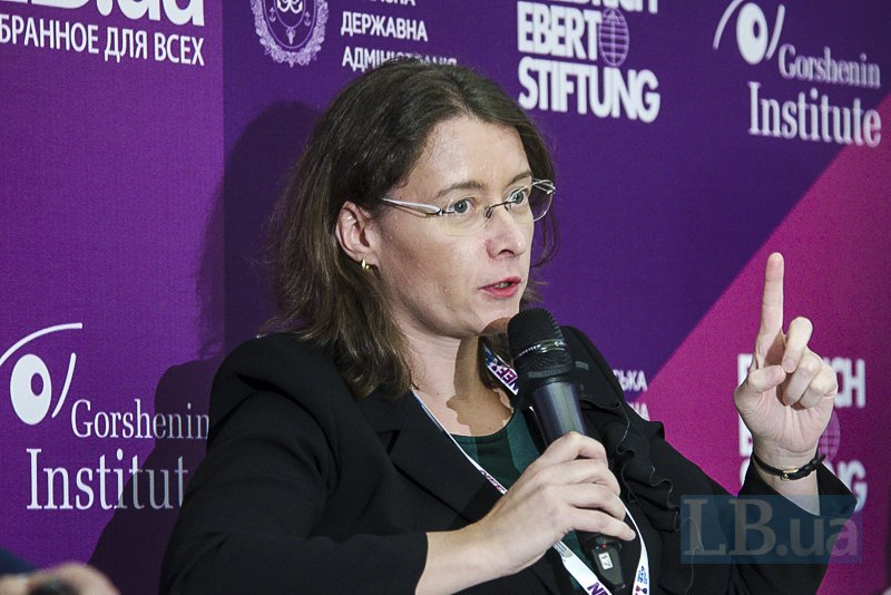 Чрезвычайный и Полномочный Посол Республики Франция в Украине Изабель Дюмон