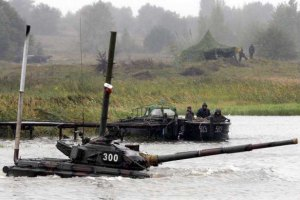 Украинская армия проведет учения в Харьковской области