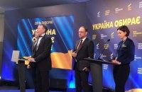 """""""Батьківщина"""": друге місце на виборах не в Порошенка, а в Тимошенко"""
