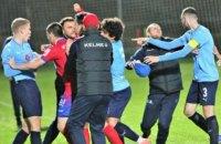Російський і боснійський футбольні клуби влаштували масову бійку в матчі на тренувальному зборі