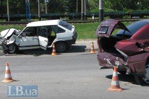 У Києві в ДТП потрапила машина з немовлям
