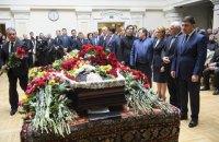 Бориса Олийныка похоронили на Байковом кладбище