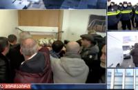 У Грузії поліція зі штурмом затримала голову партії Саакашвілі