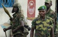 Конголезские повстанцы прекратили боевые действия