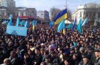 Меджліс терміново збирає мітинг під кримським парламентом