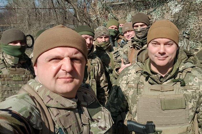 Сергій Варакін (зліва)