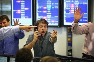 """Фондовый рынок пытался удержать достижения """"быков"""""""