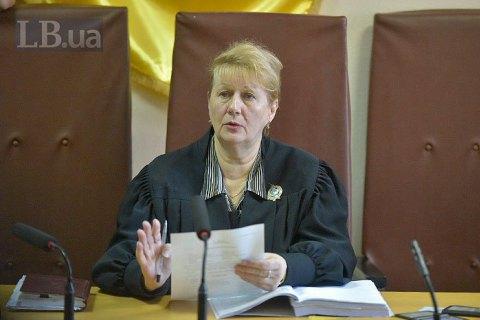 Суддю, яка посадила Крисіна в СІЗО, відсторонили від його справи